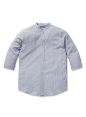 쿨스킨 코튼 밴드카라 7부 셔츠
