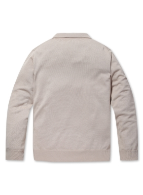 슬릿넥 카라 스웨터