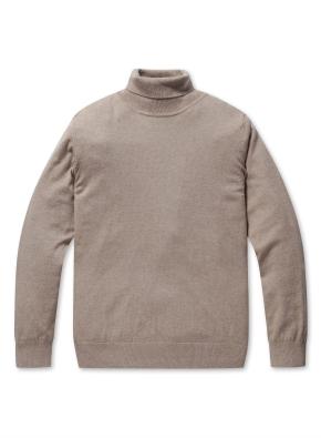 캐시 블랜디드 터틀넥 스웨터
