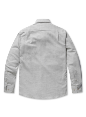 TR 플란넬 솔리드 셔츠