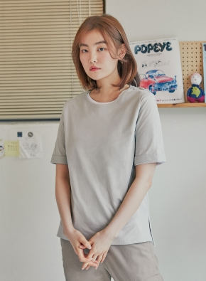 (5PACK) 여성 오가닉코튼 티셔츠 _ 5color