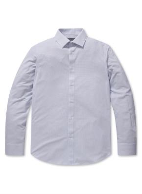 폴리 트리코트 드레스 셔츠