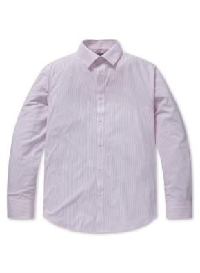 남성 폴리 트리코트 드레스 셔츠 _ (SPK)