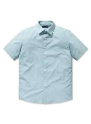베이직 반팔 드레스 셔츠