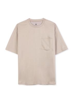 남성 분또 포켓 5부 티셔츠 _ (BE)