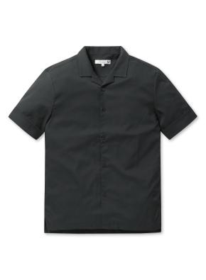 남성 오픈카라 솔리드 셔츠 _ (DGN)