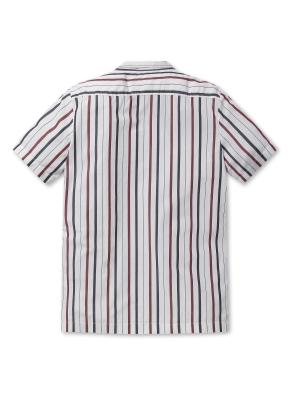 남성 오픈카라 스트라이프 셔츠 _ (SIV)