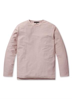 남성 솔리드변형 싱글 티셔츠 _ (PK)