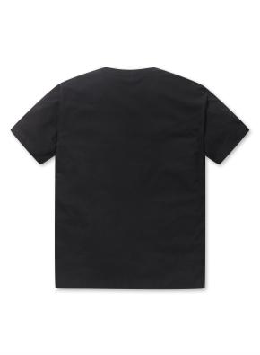 남성 5부 포켓 티셔츠 _ (BK)