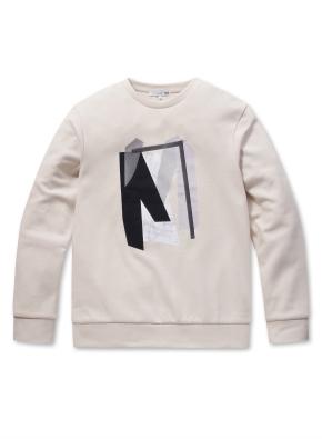 남성 그래픽 맨투맨 티셔츠  _ (BE)