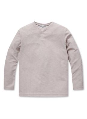 남성 사카리바 슬릿 티셔츠  _ (BE)