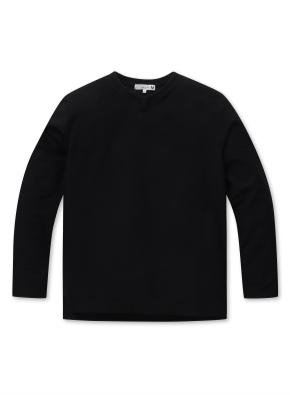 남성 조직 변형 슬릿 티셔츠  _ (MBK)