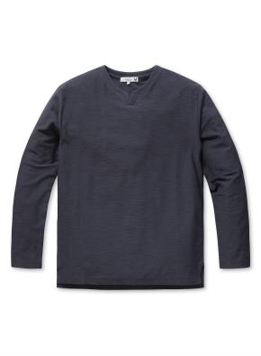 남성 조직 변형 슬릿 티셔츠  _ (MNV)