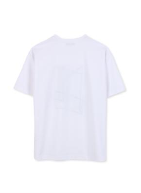 남성 쿨텐션 아트웍 5부 티셔츠 _ (WT)