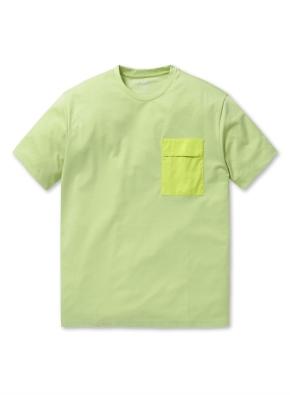 쿨텐션 5부 포켓 티셔츠
