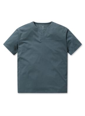 남성 핫썸머 쿨론 슬릿 티셔츠 _ (KH)