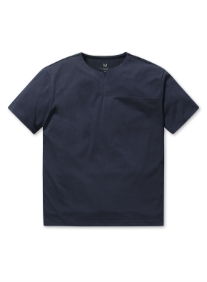 남성 핫썸머 쿨론 슬릿 티셔츠 _ (NV)