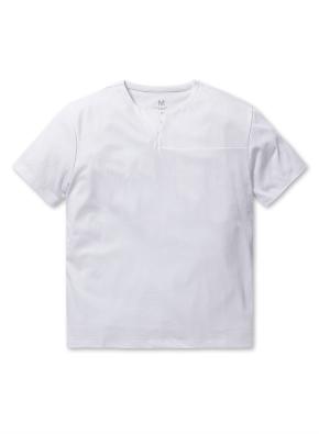 핫썸머 쿨론 슽릿 티셔츠