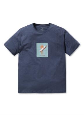 남성 핫썸머 그래픽 티셔츠 _ (BL)