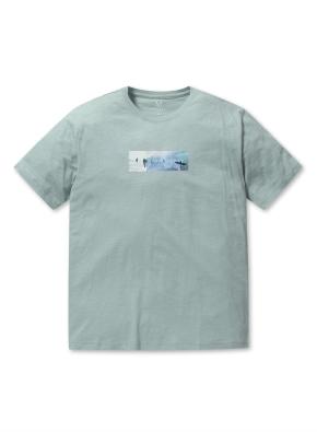 남성 핫썸머 그래픽 티셔츠 _ (MT)