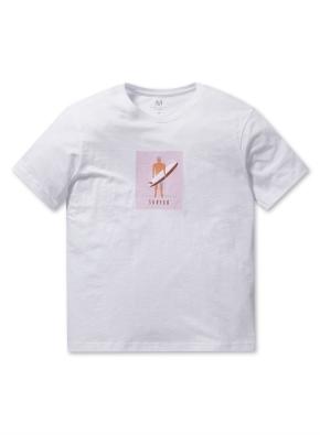 남성 핫썸머 그래픽 티셔츠 _ (WT)