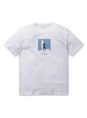 남성 핫썸머 그래픽 티셔츠 _ (WWT)