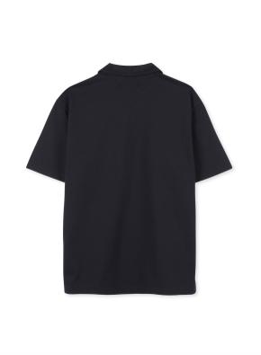 남성 오픈 카라 티셔츠 _ (NV)