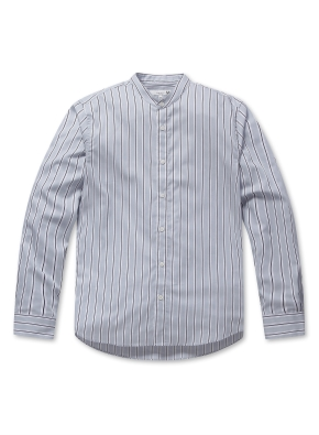 남성 포플린 밴드카라 셔츠 _ (SBL)