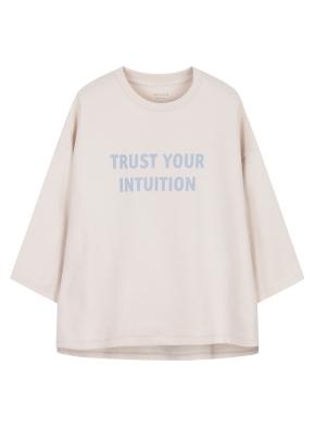 여성 7부 슬릿 티셔츠 _ (LBE)