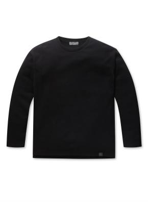 남성 소재변형 티셔츠 _ (BK)