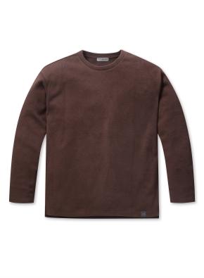 남성 소재변형 티셔츠 _ (BR)
