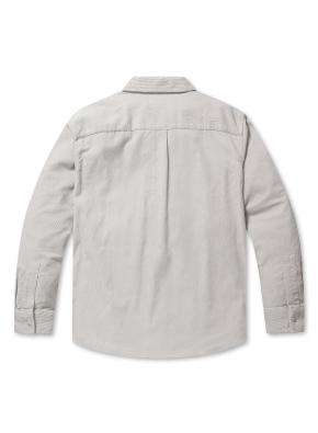 코듀로이 아우터형 셔츠
