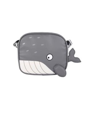 아동) 팀스 유아 혹등고래 크로스백 무독성 소풍 물놀이 데일리백