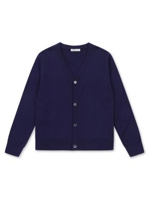 아동) 스웨터 컬러 가디건 (NV)