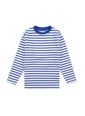 아동) 코튼 스트라이프 티셔츠 (BLP)