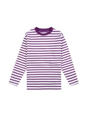 아동) 코튼 스트라이프 티셔츠 (PPP)
