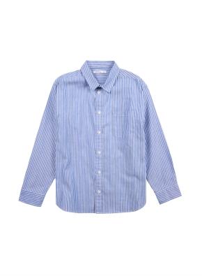 아동) 코튼 베이직 옥스포드 셔츠 (NVP)