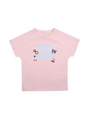 여아) 코튼 콜라보 티셔츠 (LOL SURPRISE) (LPK)