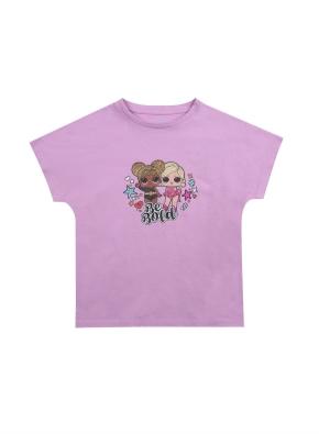 여아) 코튼 콜라보 티셔츠 (LOL SURPRISE) (VI)
