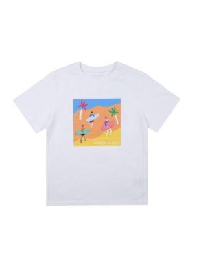 아동) 면 시티 티셔츠 (공모전) (WTG)