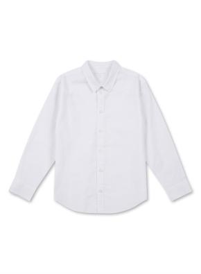 아동) 린넨 코튼 레귤러 카라 셔츠 (9부) (WT)