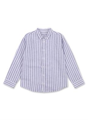 아동) 린넨 코튼 레귤러 카라 셔츠 (9부) (WTE)