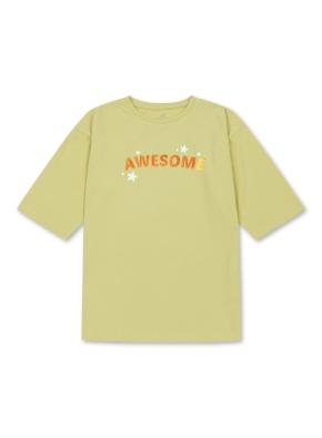 여아) 7부 싱글 롱 티셔츠