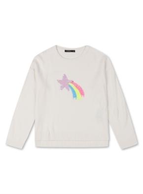 여아) 더블시퀸 스웨터