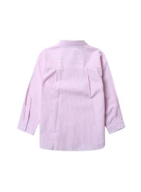 여아) 베이직 포플린 셔츠