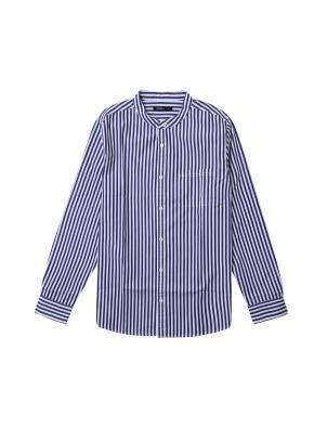 아동) 스탠드카라 포플린 셔츠 (NVP)