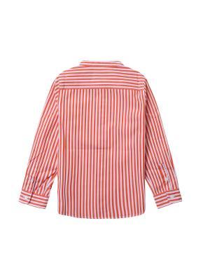 아동) 스탠드카라 포플린 셔츠 (ORP)
