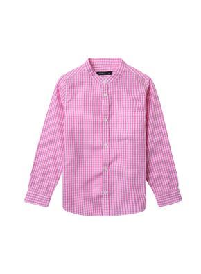 아동) 스탠드카라 포플린 셔츠 (PKM)