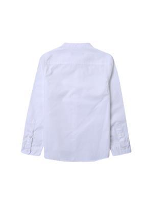 아동) 스탠드카라 포플린 셔츠 (WT)