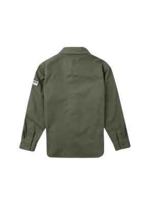남아) 코튼트윌 셔켓(KH)
